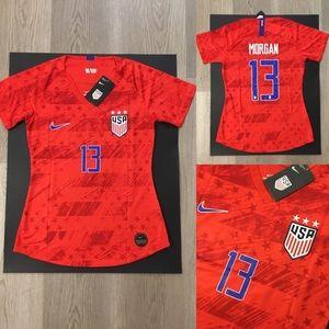 Alex Morgan #13 Woman Soccer Jersey USA